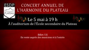 Concert annuel 2016-1