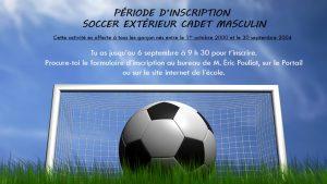 Soccer exterieur